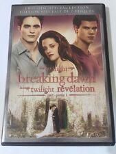 The Twilight Saga: Breaking Dawn - Part 1 (DVD, 2012, 2-Disc Set, Canadian)