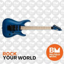 ESP LTD MH-203QM Electric Guitar Quilted Maple See Thru Blue w/ Floyd Rose
