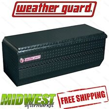 """Weather Guard 47"""" Black Aluminum All Purpose Chest Toolbox"""