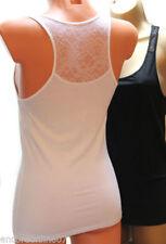 Cotton Blend Plus Size Singlepack Vests for Women