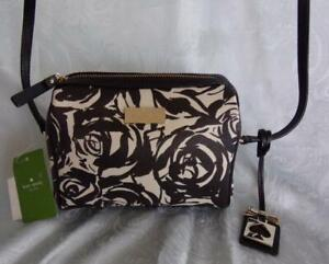 NWT Kate Spade Brightwater Drive Looloo  Watercolor Rose  Crossbody/Shoulder Bag