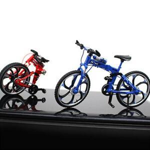 1:10 Finger Fahrradmodell Metalldruckguss Mountainbike MiniRace Spielzeug Gadget