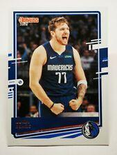 Panini Donruss 2020-21 N9 NBA trading card #13 Dallas Mavericks Luka Doncic