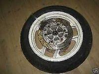 Kawasaki GPZ 600 Cerchione Frontale 2,50 x 16 Pollici Ruota Ant. Disco Freno