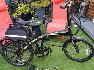 Carrera Crosscity Folding Electric Bike