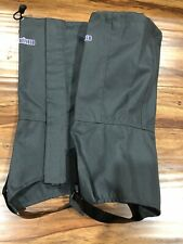 Bluefield All Weather Waterproof Gaiters Cadet Gray Medium