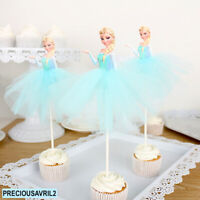Frozen Elsa Cake Topper Princess party supplies cake Supplies girl birthday