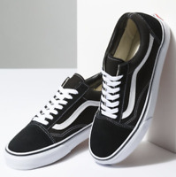 Vans Old Skool Black / White Shoes VN000D3HY28 100% Authentic $60