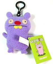 "Uglydoll Trunko Bear Clip on Plush Doll Toys Keychain Backpack School Home 4.7"""