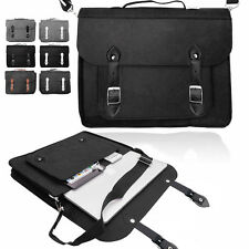Smart Laptop Felt SATCHEL Case Bag Sleeve with Leather Handle for Apple Macbook