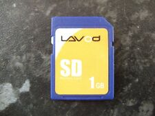Lavod 1gb SD card.