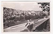 Rppc,Trojan (Troyan),Bulgaria,City & Suspension Bridge,Eastern Europe,1960