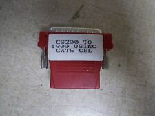 CS200 to 1900 Cat5 Cable Connector *FREE SHIPPING*