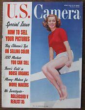 April 1955 U.S. Camera (Photography Magazine)