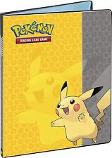 Ultra Pro Pokemon Card Binder Pikachu 9 POCKET Album Portfolio Holder Protector