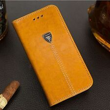 De Lujo Funda Libro Cartera Base Cuero for iPhone 6 7Plus Samsung Galaxy