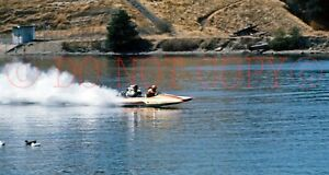 9 Professional 35mm slides from1975. Lake Folsom, CA. Dragboat Hydroplanes