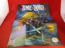 Time Lord Nintendo NES Foldable Promo Poster Insert ONLY Timelord