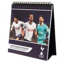 Tottenham Hotspur Spurs FC Official Desktop Easel Calendar 2021 Christmas Gift
