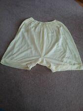 Ladies Vintage Lemon Bloomers Knickers Panties Size 12/14