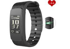 Smart Bracelet, Heart Rate Monitor Smart Fitness Activity Pedometer Wristband Sl