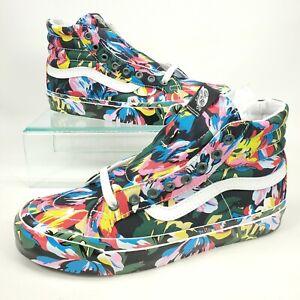 VANS x Kenzo Paris OG Sk8-Hi LX Floral Green Sneakers Size Womens 9 / Mens 7.5