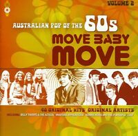 AUSTRALIAN POP OF THE 60s VOLUME 2 MOVE BABY MOVE VARIOUS ARTISTS 2 CD NEW