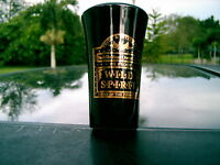 BLACK  WILD SPIRIT DRINK OF THE FRONTIER   SHOT GLASS REPLACEMENT