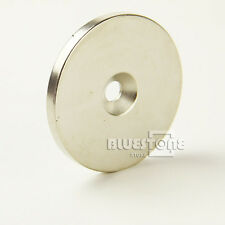 20MM X 10MM RARE EARTH NEODYMIUM N35 STRONG DISC RING MAGNET HOLE 6MM ALLURING