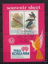Indonesia 1984 SG#MS1769 Birds Cto Used M/S