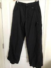 Airwalk Black Snowboard Pant Men M Used