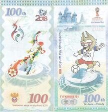 RUSSIA..2018 WORLD CUP 100 RUBLES ,,UNC BANKNOTE..(S)