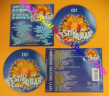 CD 39°Festivalbar 2002 Compilation Blu LIGABUE JAMIROQUAI THE CALLING NEK(C26*)