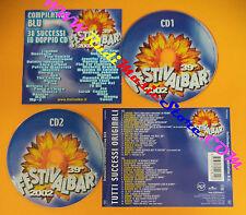 CD 39°Festivalbar 2002 Compilation Blu LIGABUE JAMIROQUAI THE CALLING NEK(C26)