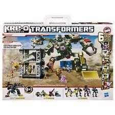 KRE-O Transformers 36951 Destruction Site Devastator 9 in 1 Bauset Hasbro
