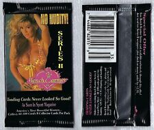 Bench Warmer Collector Fitness Trading Cards. Sealed Pack of 8 Cards. No Nudity!