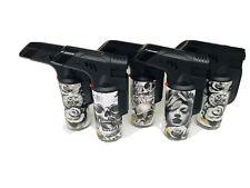 Premium Blow Torch Laser Jet Lighters Refillable 5 Pack
