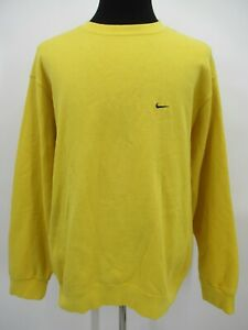 P4507 VTG Nike Men's Crewneck Fleece Pullover Sweatshirt Made in USA Size 2XL