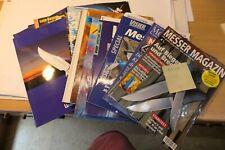 diverse Taschenmesser Katalog/Prospekte  alt