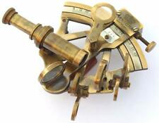 Antique Brass Nautical Sextant Maritime Astrolabe Marine for Office Gifitng Item