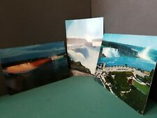 Lot of 3 Extra Large Post Cards View of Niagara Falls 1960s Not Used #149