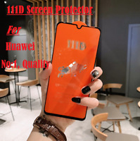 111D Full Cover Tempered Glass 9H Screen Protector For Huawei P20/P30 P20/30Lite