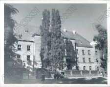 1945 Nuremberg Germany Palace Of Justice Where War Criminals Tried Press Photo