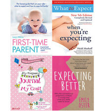 Expecting Better,What To Expect When You're Expecting 4 Books Collection Set