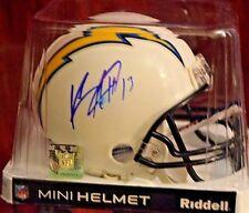 Riddell Mini NFL Chargers Keenan Allen Autograph Helmet PSA / DNA  Auto