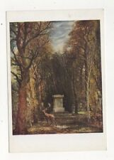 The Cenotaph At Coleorton by John Constable Plain Back Tate Gallery Card 608a