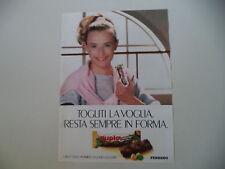 advertising Pubblicità 1989 DUPLO FERRERO