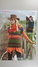 Sirdar Knitting Pattern #9319 to Knit Ladies Vest in 2 Styles with Indie Yarn