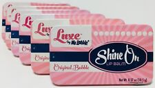 Shine On Lip Balm Original Bubble LUXE by Mr Bubble X6 Tins Sealed NEW