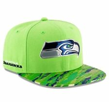 New Era Seattle Seahawks OnField Metallic Color Rush Snapback Hat 12th Man